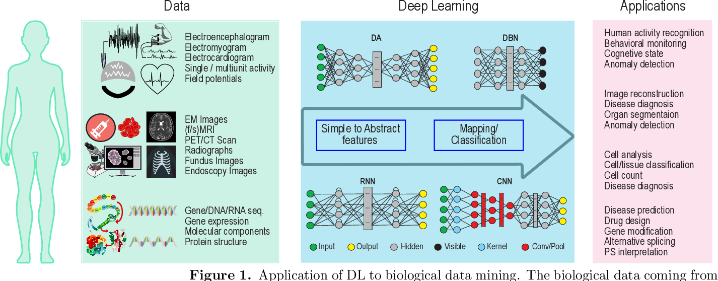 Figure 1 for Deep Learning in Mining Biological Data