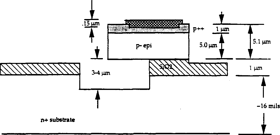 Figure 2Z5 Hypothetical cross section of a completed device