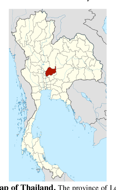 Lopburi Thailand Map.Breast Cancer In Lopburi A Province In Central Thailand Analysis