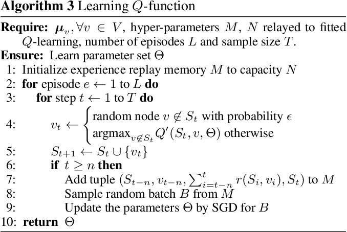 Figure 1 for Learning Heuristics over Large Graphs via Deep Reinforcement Learning