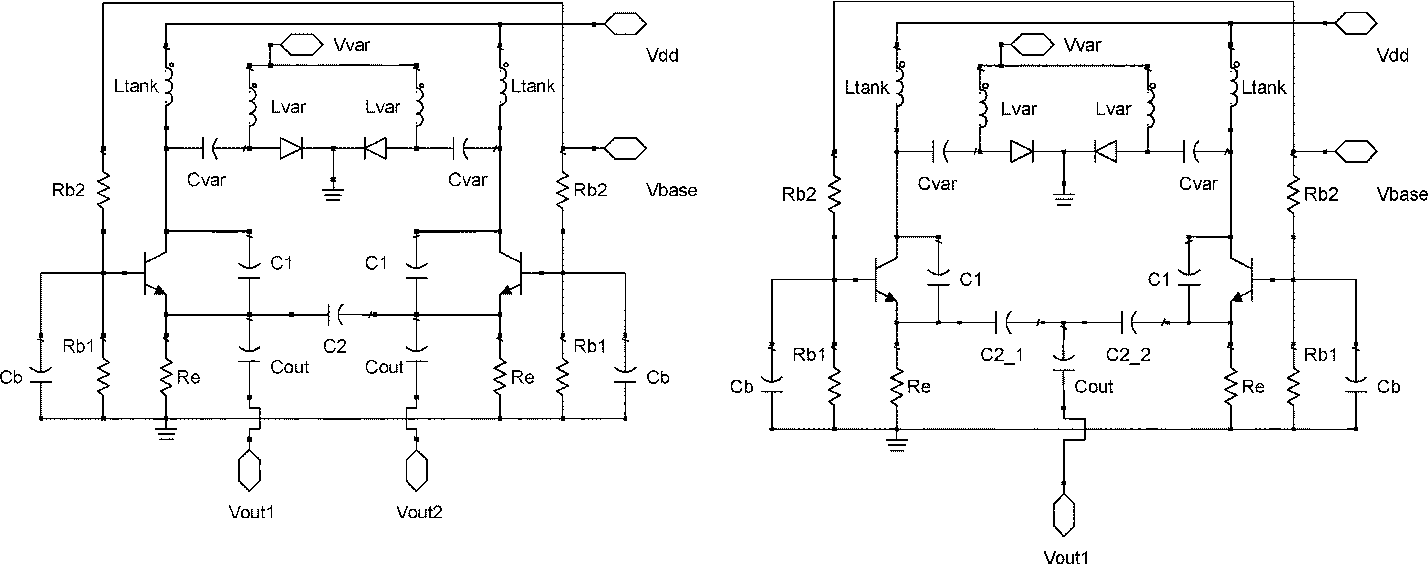 Balanced Colpitt Oscillator Mmics Designed For Ultra Low Phase Noise Monolithic Microwave Integrated Circuit Mmic Voltage Controlled Semantic Scholar