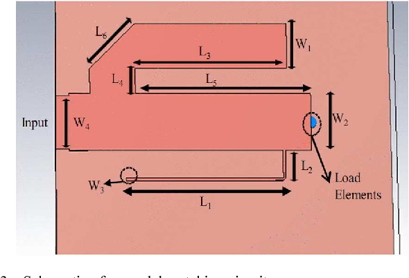 Fig. 3. Schematic of -model matching circuit.