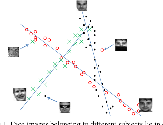 Figure 1 for Correntropy Induced L2 Graph for Robust Subspace Clustering