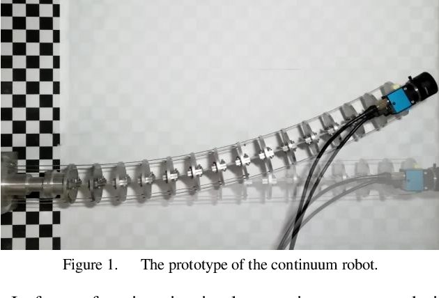 Figure 1 for Approximate Piecewise Constant Curvature Equivalent Model and Their Application to Continuum Robot Configuration Estimation