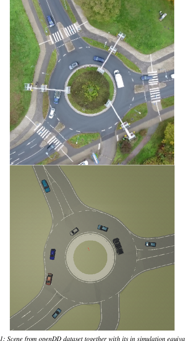 Figure 1 for CARLA Real Traffic Scenarios -- novel training ground and benchmark for autonomous driving