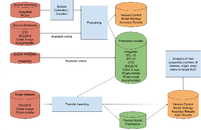 Figure 2 for Cats, not CAT scans: a study of dataset similarity in transfer learning for 2D medical image classification