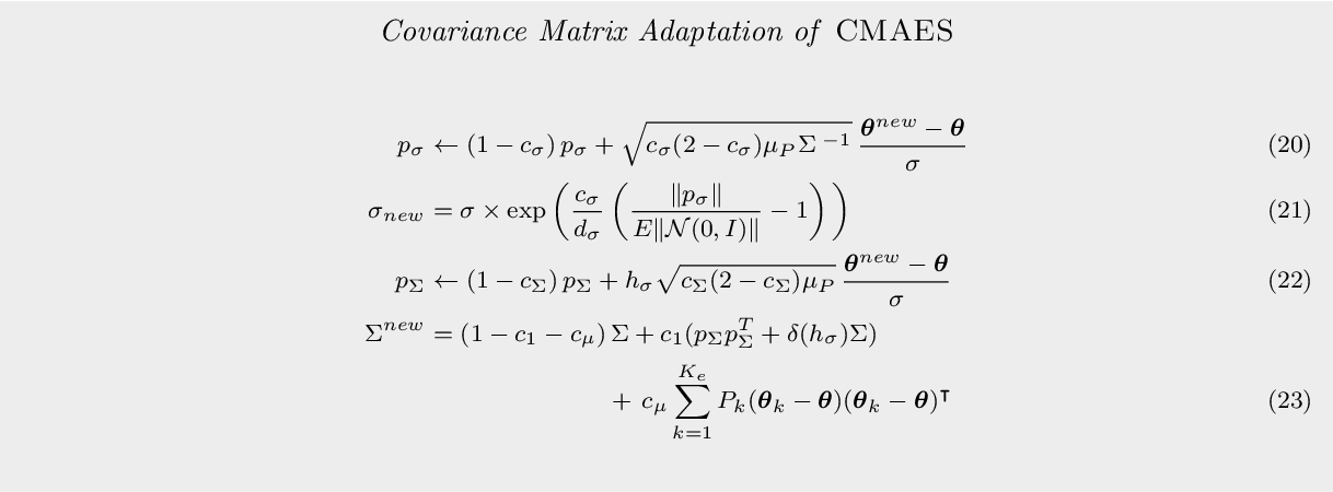 Figure 3 for Path Integral Policy Improvement with Covariance Matrix Adaptation