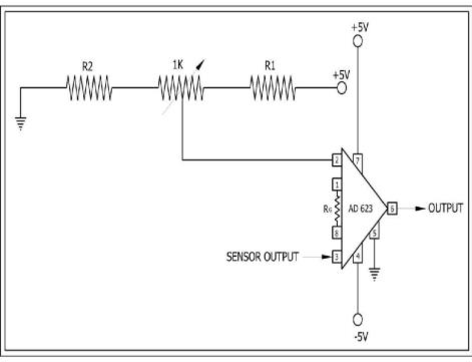Fig. 3. Signal Conditioning circuit