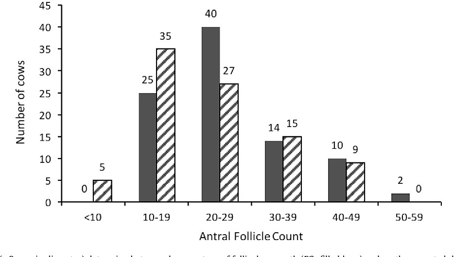 Repeatability Of Antral Follicle Counts And Anti Mllerian Hormone Their Associations Determined At An Unknown Stage Follicular Growth