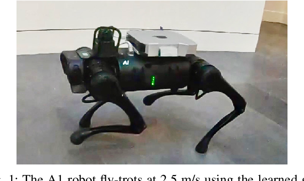 Figure 1 for Fast and Efficient Locomotion via Learned Gait Transitions