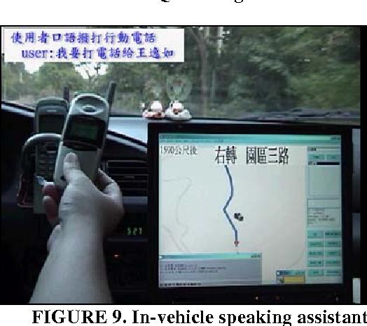 FIGURE 9. In-vehicle speaking assistant