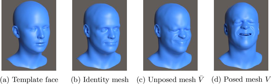 Figure 1 for A high fidelity synthetic face framework for computer vision