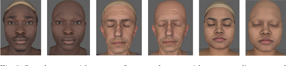 Figure 3 for A high fidelity synthetic face framework for computer vision
