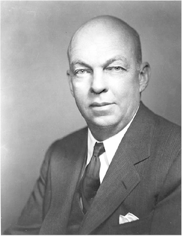 Fig. 1. Edwin H. Armstrong in his later years. (IEEE History Center, Piscataway, NJ).