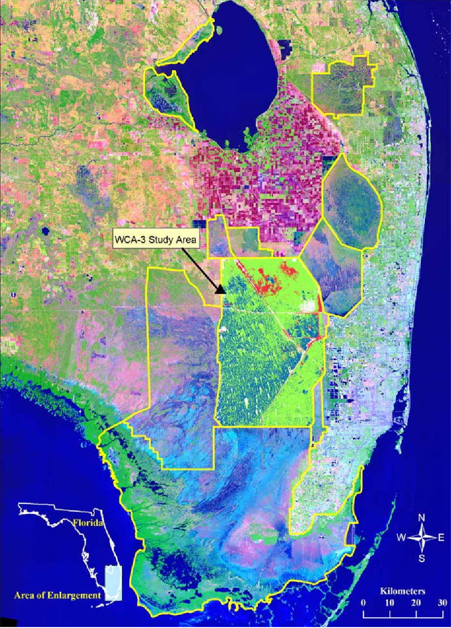 Determining an appropriate minimum mapping unit in vegetation