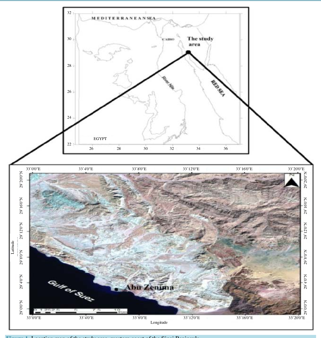 Figure 1 from Integrated Geophysical, Remote Sensing and GIS