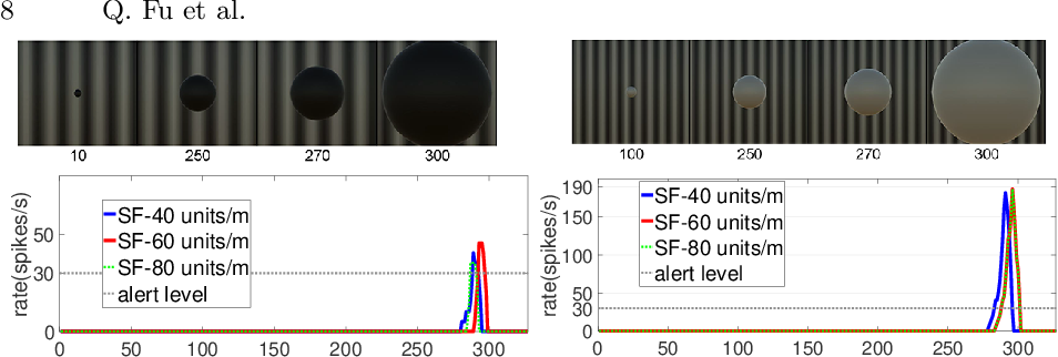 Figure 4 for A Visual Neural Network for Robust Collision Perception in Vehicle Driving Scenarios