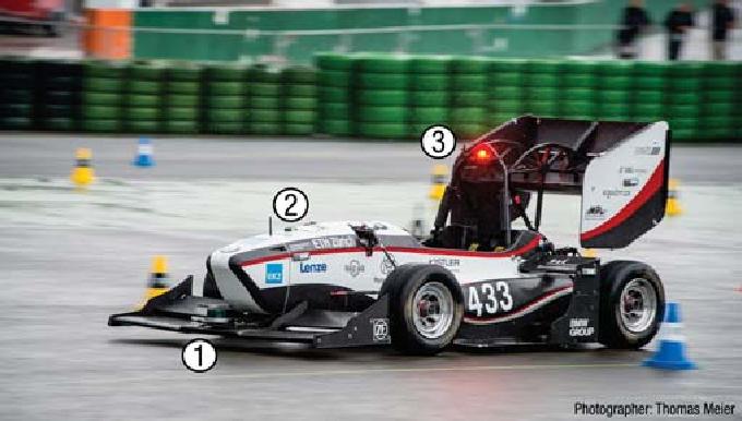 Figure 1 for Design of an Autonomous Racecar: Perception, State Estimation and System Integration