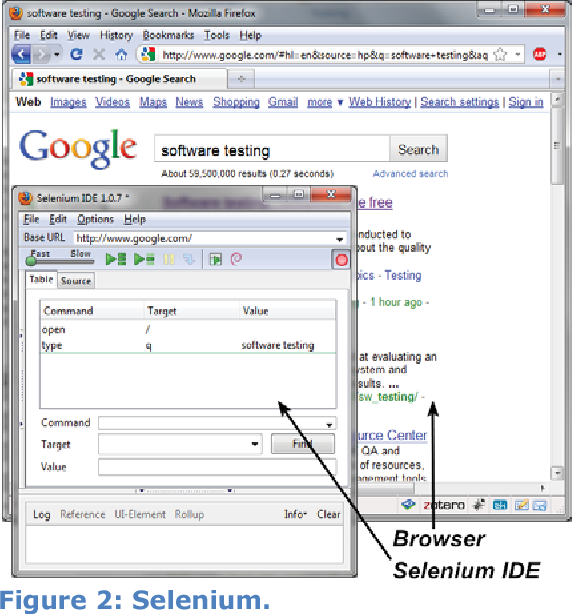 Figure 2 from System Testing of Desktop and Web Applications
