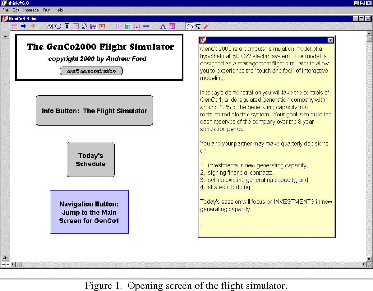 Figure 1 from Andrew Ford 1 Flight Simulator   An Interative