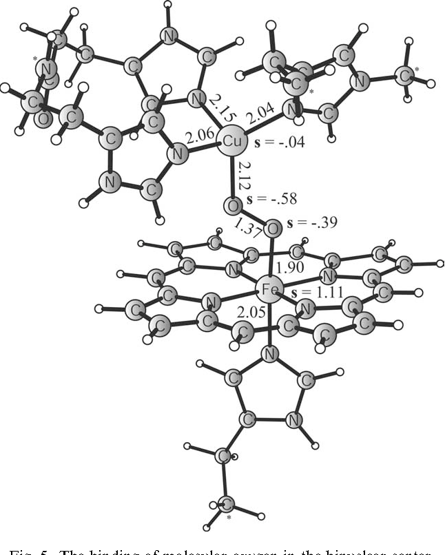 Figure 5 From A Theoretical Study On The Binding Of O2 No And Co