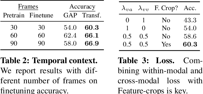 Figure 3 for Space-Time Crop & Attend: Improving Cross-modal Video Representation Learning