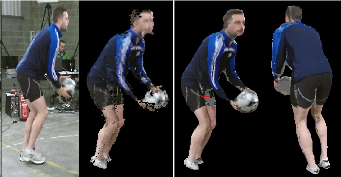 Figure 2 for An Integrated Platform for Live 3D Human Reconstruction and Motion Capturing