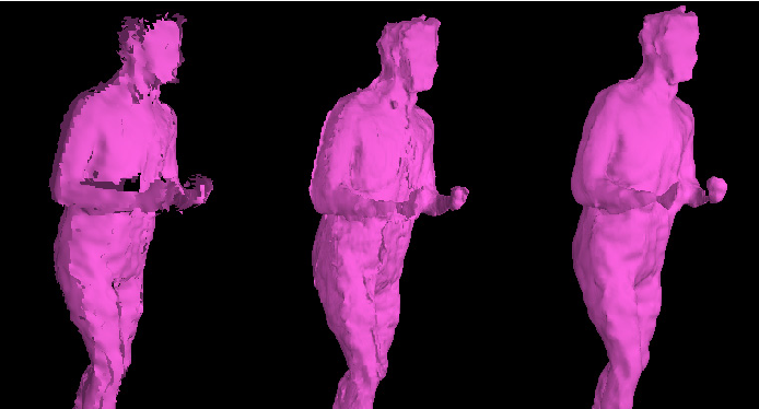 Figure 3 for An Integrated Platform for Live 3D Human Reconstruction and Motion Capturing
