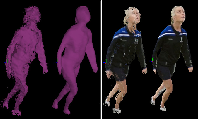 Figure 4 for An Integrated Platform for Live 3D Human Reconstruction and Motion Capturing