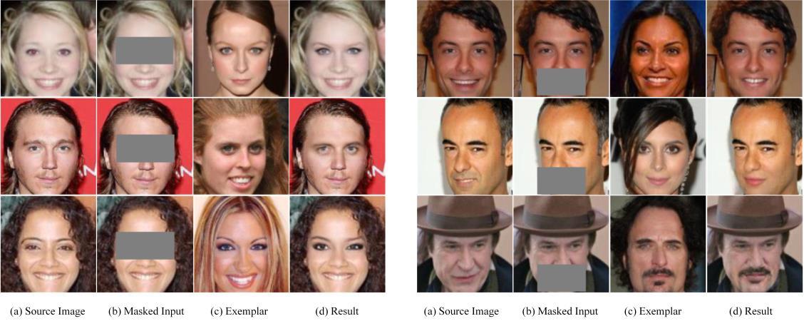 Figure 1 for Exemplar-based Generative Facial Editing