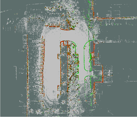 Figure 4 for Road Curb Detection Using A Novel Tensor Voting Algorithm