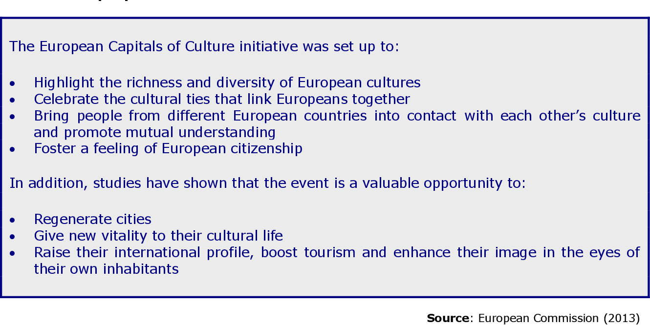 Studies Highlight Lasting Effects Of >> Pdf European Capitals Of Culture Success Strategies And Long Term