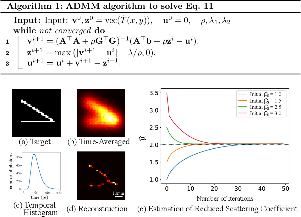 Figure 4 for Automatic Differentiation for All Photons Imaging to See Inside Volumetric Scattering Media