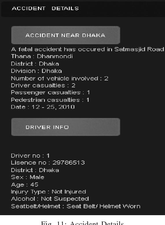 AVRA Bangladesh collection, analysis & visualization of road