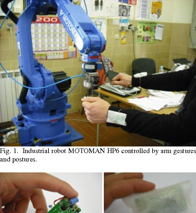 Accelerometer-based control of an industrial robotic arm - Semantic