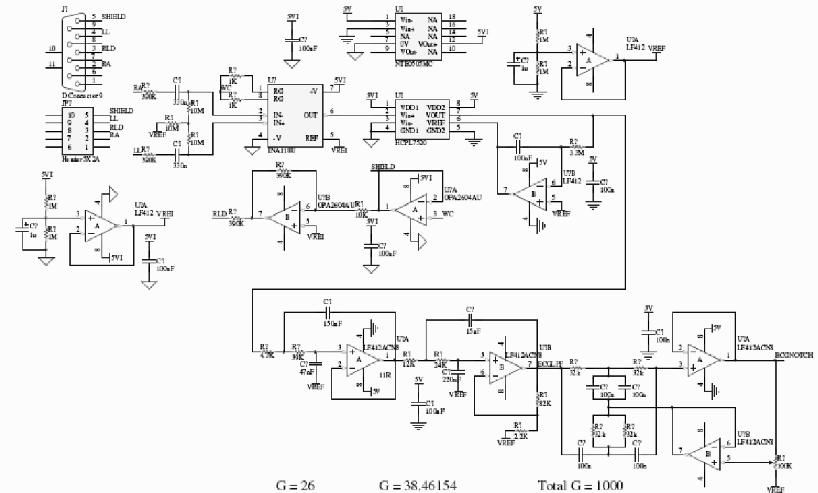 Study Of Electromagnetic Interference To Ecg Using Faraday Shield Circuit Diagram Figure 2