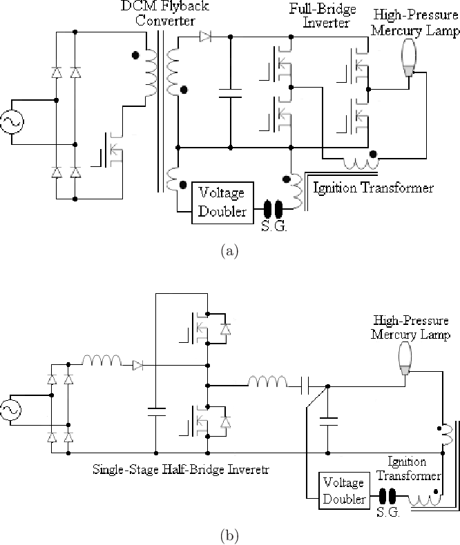 Projector Lamp Ballast Circuit Diagram