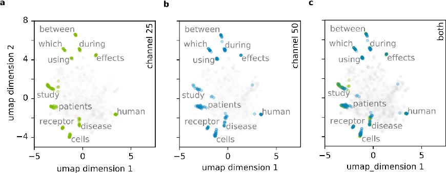 Figure 3 for Semantic maps and metrics for science Semantic maps and metrics for science using deep transformer encoders