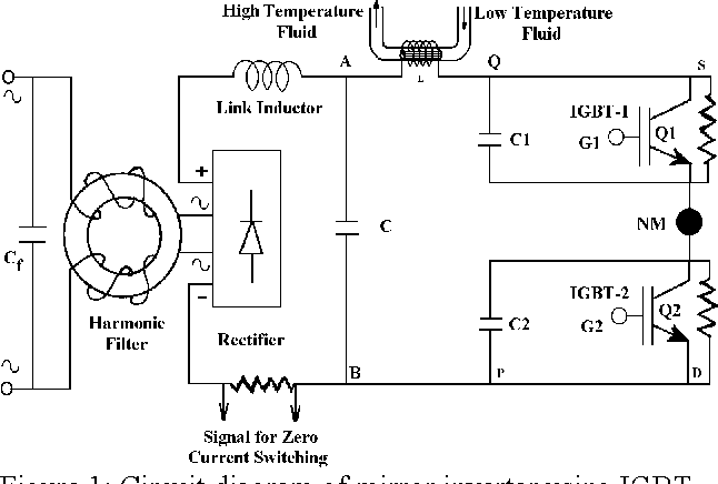 figure 1 from performance of h f  mirror inverter with different semiconductor switches for