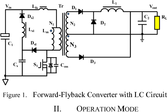forward flyback mixed zvs dc dc converter with non dissipative lc rh semanticscholar org
