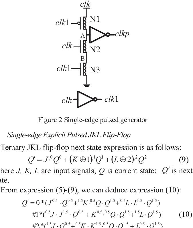 3436d9d70249 Novel low-power ternary explicit pulsed JKL flip-flop based on CNFET ...