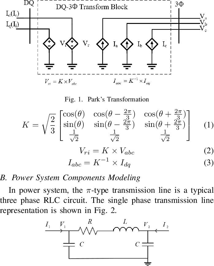 Figure 1 for Using Terminal Circuit for Power System Electromagnetic Transient Simulation