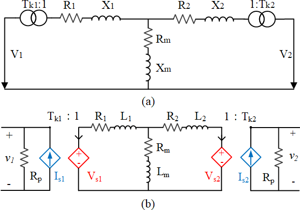Figure 2 for Using Terminal Circuit for Power System Electromagnetic Transient Simulation