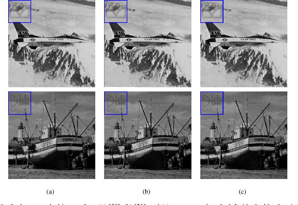 Figure 2 for Generic Reversible Visible Watermarking Via Regularized Graph Fourier Transform Coding