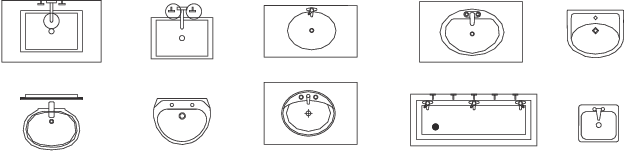 Figure 3 for FloorPlanCAD: A Large-Scale CAD Drawing Dataset for Panoptic Symbol Spotting