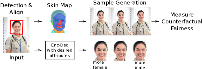 Figure 1 for Gender Slopes: Counterfactual Fairness for Computer Vision Models by Attribute Manipulation