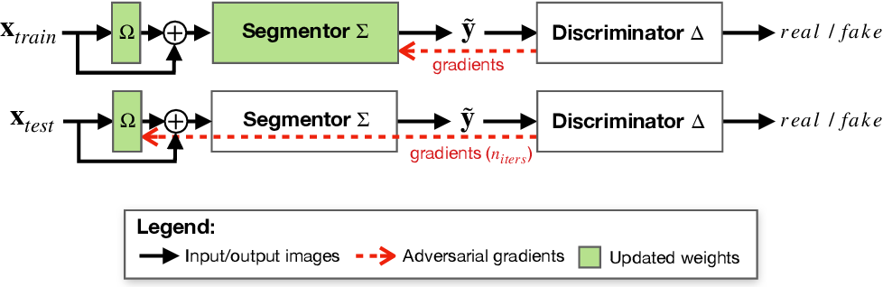 Figure 3 for Re-using Adversarial Mask Discriminators for Test-time Training under Distribution Shifts