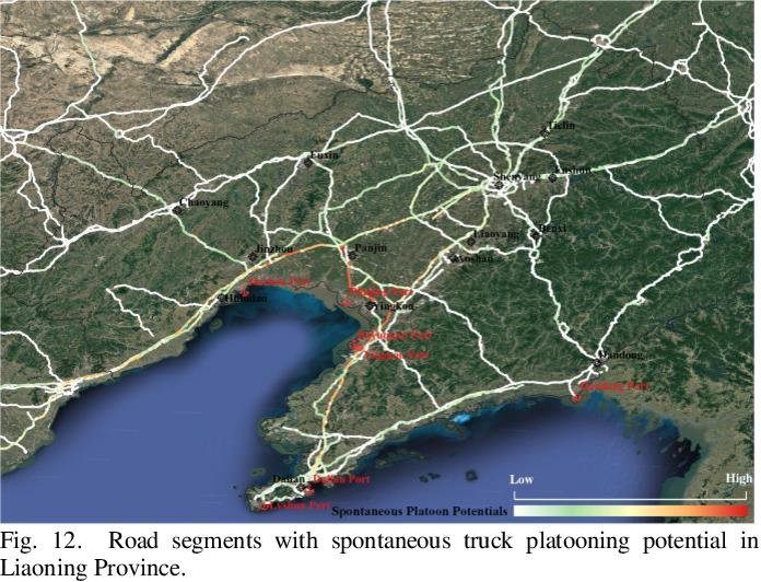 Figure 4 for Mining Truck Platooning Patterns Through Massive Trajectory Data
