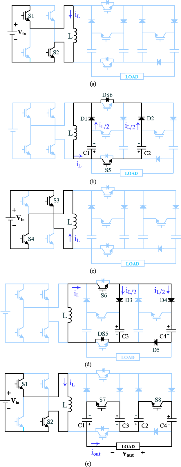 An Efficient Structure Of Marx Generator Using Buckboost Converter Figure 1 This Is Inductor Based 5 Stage Circuit Semantic Scholar