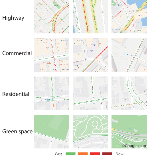 Figure 1 for Travel Time Estimation without Road Networks: An Urban Morphological Layout Representation Approach